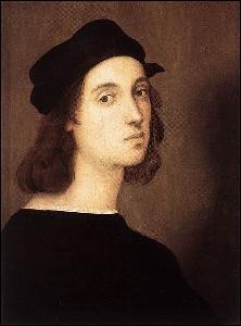 Peintre et architecte italien de la Renaissance (1483-1520), son chef-d'œuvre absolu 'La Transfiguration' est conservé dans le musée du Vatican. Il a peint cet 'Autoportrait' à 26 ans.