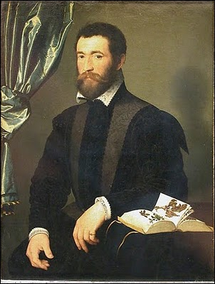 Peintre officiel de François Ier puis de ses 3 fils, protégé de Catherine de Médicis, il a peint ce portrait de 'Pierre Quthe, apothicaire'.
