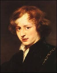 Né à Anvers (1599-1641), il fut le principal peintre de cour en Angleterre. Il a peint cet 'Autoportrait'.
