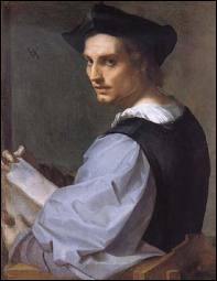 Elève de Piero di Cosimo, ce peintre florentin (1486 – 1531) fit un passage éclair à la cour de François 1er. Il a peint ce 'Portrait d'un jeune homme'.