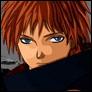 Qui est ce membre de l'Akatsuki, dont le nom se traduit par 'Scorpion du sable rouge' ?