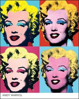 Qui a peint ' Diptyque Marilyn ' ?