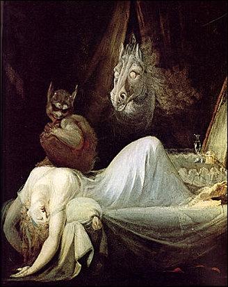 Qui a peint ce tableau nommé ' Le cauchemar'