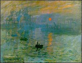 Qui a peint 'Impression soleil levant ' ?