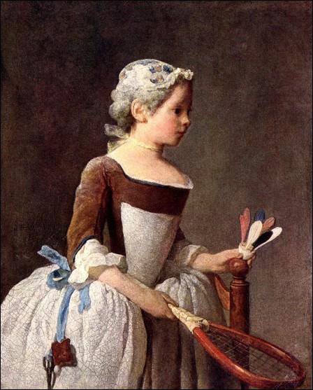 Qui a peint 'La fillette au volant' ?