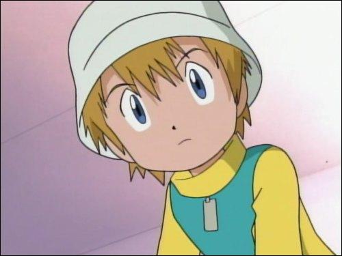 Le petit frère d'un des héros de la série 'Digimon', qui est également digisauveur ?