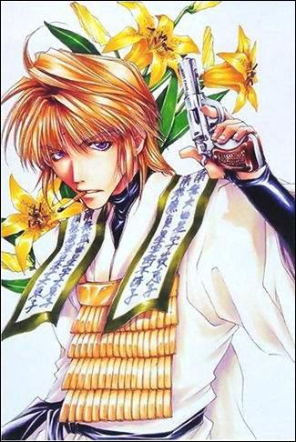 Jeune moine bouddhiste ayant pour arme un revolver et possédant le sutra du ciel maléfique, ce personnage se nomme...