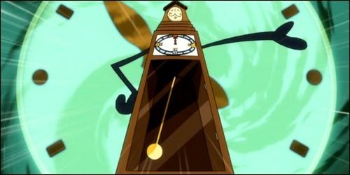 Que fait Horologium quand Lucy l'invoque ?