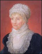 D'origine allemande mais vivant en Angleterre avec son frère William, elle fut la 1ère femme astronome. Elle fut l'assistante de son frère, astronome privé du Roi. Elle découvrit 7 comètes.