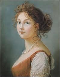 Reine de Prusse, très belle, courageuse, cultivée, elle eut 10 enfants. Elle rencontra Napoléon en 1807 afin d'adoucir les conditions de paix qui étaient imposées à son pays.