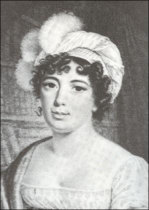 Fille du banquier Necker, enfant prodige, à 15 ans elle conversait d'égal à égal avec Buffon et Diderot. Elle tint le salon littéraire le plus brillant de son époque.
