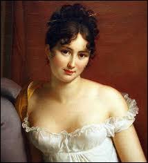 D'origine lyonnaise, elle était réputée pour sa beauté et son esprit. Elle tint un salon littéraire, politique et intellectuel célèbre. Elle fut très amoureuse de Chateaubriand.