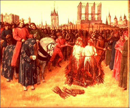 Saint Louis ne tolère pas les hérétiques. Après avoir pris la citadelle de Montségur, il condamne au bûcher 200... ?