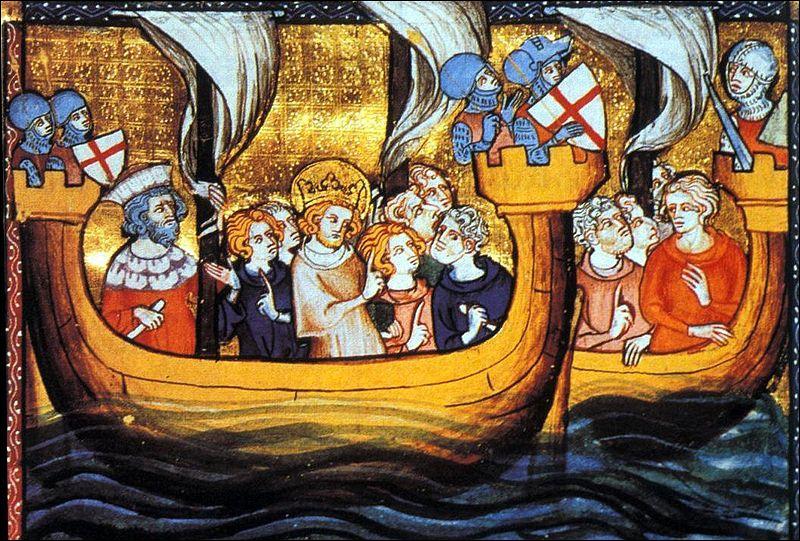 Louis participe à la 7ème et à la 8ème croisade. C'est pendant cette dernière qu'il trouve la mort... ?