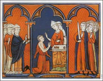 Louis appartient à la dynastie des Capétiens. Il accède au pouvoir à 12 ans, sous le nom de... ?