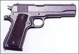 Une arme de poing américaine trés connue :