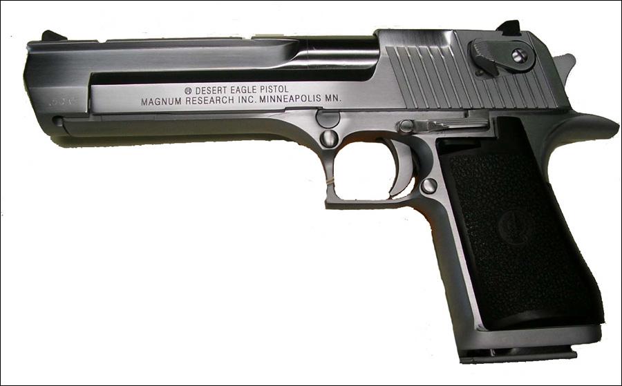 Un pistolet semi-automatique mondial :