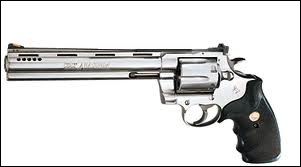Le plus puissant des revolvers, plus connu sous le nom de Magnum 44 :