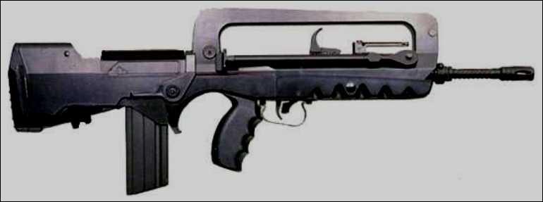 Le fusil d'assaut purement français :