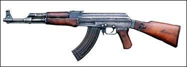 L'arme russe mais aujourd'hui mondiale :