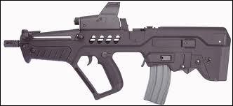Un fusil d'assaut de l'armée israélienne :