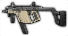 Un prototype de pistolet-mitrailleur américain :
