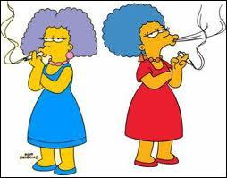 Comment s'appellent les soeurs de Marge Simpson ?
