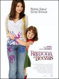 Quelle comédie de 2011 réunit les soeurs Beezus (Selena Gomez) et Ramona (Joey King) Quimby ?