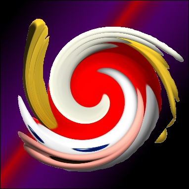 Sous cette spirale, se cache en réalité ...