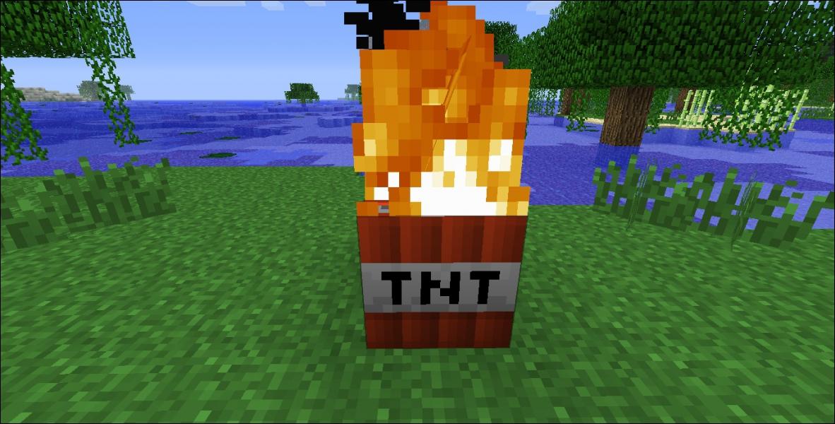 Le feu actiive-t-il la TNT ?