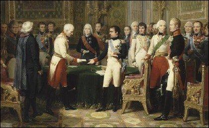 Quelle paix impose-t-il à l'Autriche en 1801 qui met fin aux campagnes d'Italie ?
