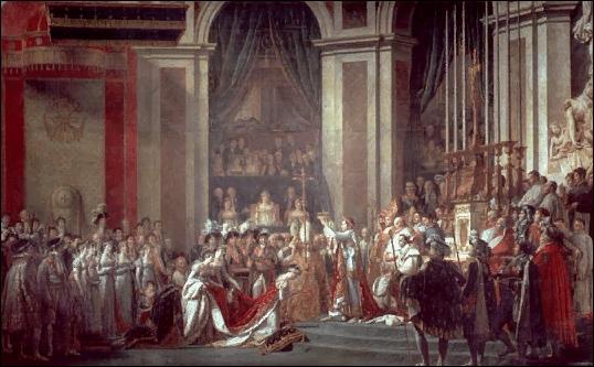 Quel jour se fait-il sacrer empereur à Notre-Dame de Paris en 1804 ?