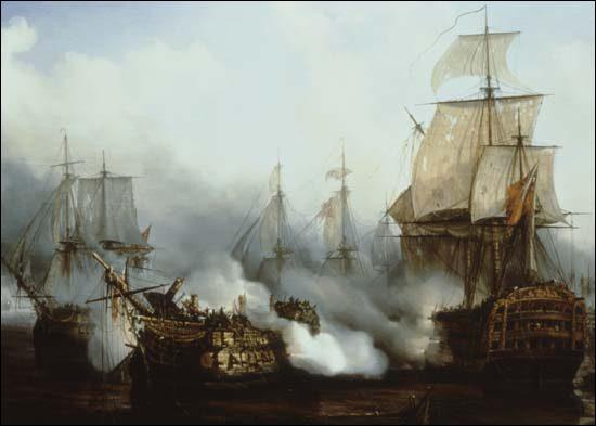 Quelle bataille perdit-il contre l'amiral Nelson en 1805 ?