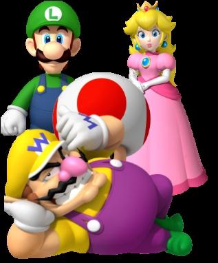 Sans compter dans le mode mini-jeux de New Super Mario Bros. , quel personnage n'a jamais été jouable dans un 'Mario Bros. ' ?