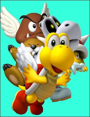 Lequel de ces ennemis n'apparaît pas dans 'Super Mario 3D Land' ?
