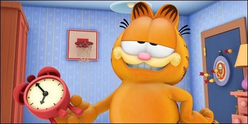 """Dans """"Garfield et Cie"""", qu'est-ce que fait ce gros chat toute la journée ?"""