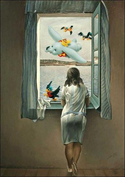 Quel personnage s'est glissé dans cette peinture ?