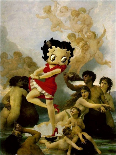Quel ange est en trop sur cette peinture ?