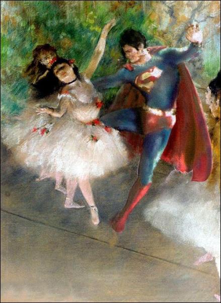 C'est fou ce que la peinture adoucit les moeurs, merci Edgar Degas !