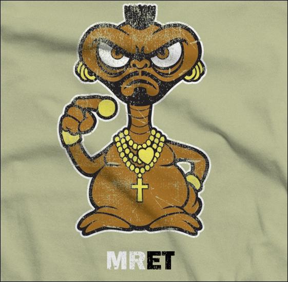 Mr E. T. Croisement entre Mister T et E. T. Dans quelle série télévisée a-t-on pu appercevoir Mister T dans les années 80 ?