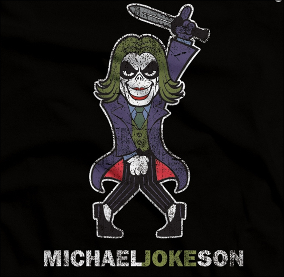 Michael Jokeson. Croisement entre Michael Jackson et Le Joker. Parmi ces trois chansons, laquelle n'est pas de Michael Jackson ?