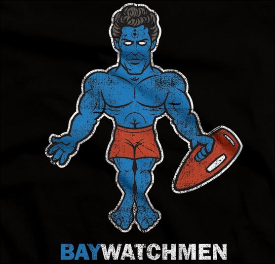 Baywatchmen. Croisement entre la série Baywatch et les super-héros Watchmen. En France, quel est le nom de la série Baywatch ?