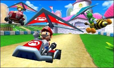 Mario Kart 7 est le premier de la série ...