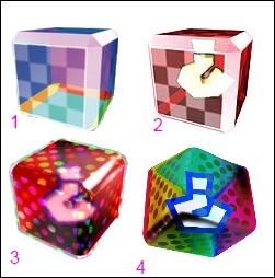 La fausse boîte à objet de Mario Kart DS correspond à l'illustration n° ...