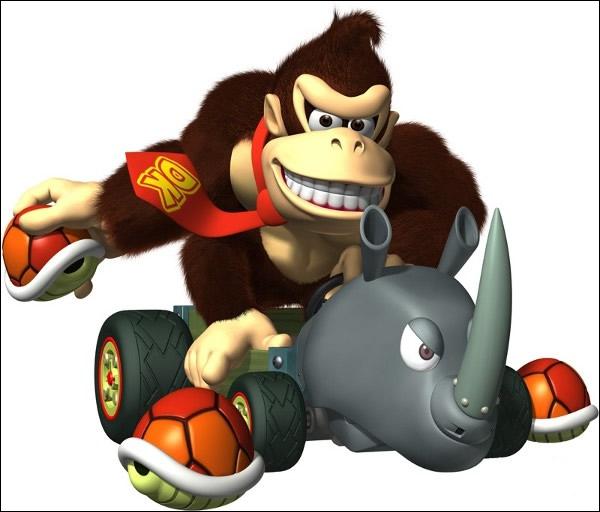 Dans quel Mario Kart n'apparaît-il pas ?