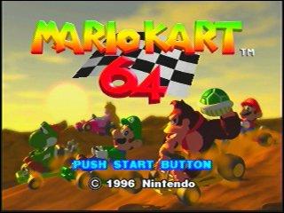 Mario Kart 64 marque le début ...