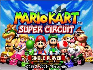 À l'écran de sélection des personnages de Mario Kart Super Circuit, il existe une option spéciale. À quoi sert-elle ?