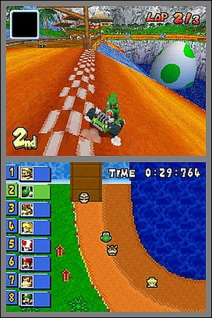 Lequel de ces circuits n'est pas un rétro (=nouveau) circuit de Mario Kart DS ?