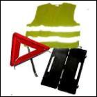 Il est obligatoire d'avoir dans son véhicule un gilet de sécurité et un triangle de pré-signalisation, sous peine d'amende !