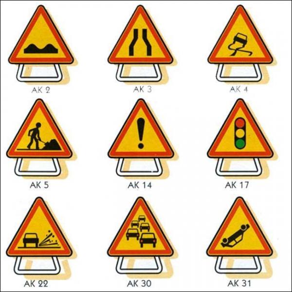 La signalisation temporaire l'emporte-t-elle sur la signalisation permanente (habituelle).